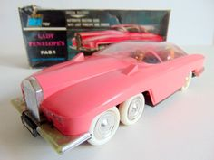 Rare #boxed a jr 21 toy #thunderbirds lady penelope's fab 1 #model,  View more on the LINK: http://www.zeppy.io/product/gb/2/391683817479/