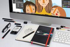 adobe creative cloud moleskine notebook unifies paper and digital