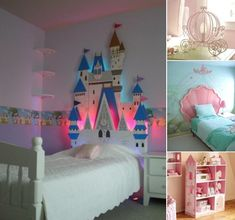 15 Lovely Disney Princesses Inspired Girls' Room Decor Ideas - http://centophobe.com/15-lovely-disney-princesses-inspired-girls-room-decor-ideas/ -