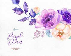 This set of high quality hand painted watercolor graphic arrangements: Bouquets, Wreaths, Arrows. Perfect graphic for wedding invitations, greeting