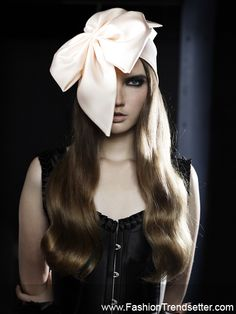Headpieces by Kirsi Nisonen. Always stunning!