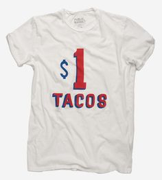 Taco Stand Hand-Lettered T-Shirt