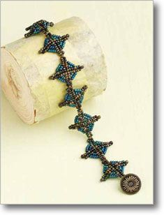 Crossover Bracelet by Phyllis Dintenfass  http://www.interweavestore.com/Beading/Projects/Crossover-Bracelet.html?SessionThemeID=18