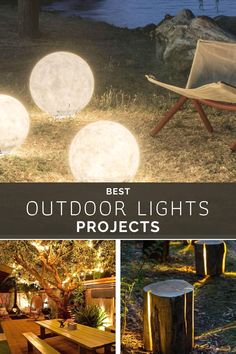 New DIY Outdoor Lights #outdoorlights