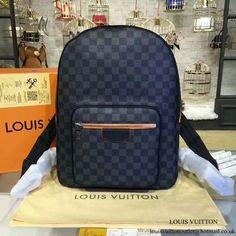 77b458c74935 Louis Vuitton N42403 Josh Backpack Damier Graphite Canvas