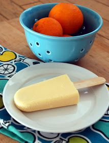 Sweet Flours: orange dream pudding pops