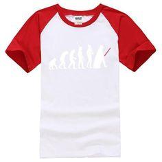 STARWARS DARTH VADER EVOLUTION MENS BLACK T-SHIRT 2017 NEW SUMMER BRAND CLOTHING HARAJUKU T SHIRTS MALE MEN TEE SHIRT TOPS