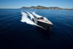 VanDutch 55 on Mediterranean near Cannes (Fr)