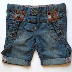 tape à loeil denim bermuda shorts  www.hoothoot.bigcartel.com