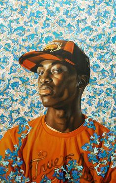 Kehinde Wiley Gavin Study I, 2008 Oil wash on paper 40 x 26 in. Collection of Brent Hasty and Stephen Mills Photo courtesy Lora Reynolds Gallery Now on view in the Blanton exhibition Through the Eyes of Texas: Masterworks from Alumni Collections.
