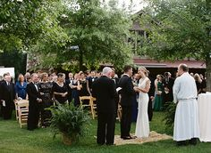 Brides: One Couple's Black-Tie Bash in the Hills of North Carolina