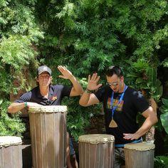 Graham & David picked up a part-time gig while out here at the Disney Aulani Resort! #GrahamInTheMornings #GoCountry105 #Disney #disneyaulani #countrytakingovertheisland