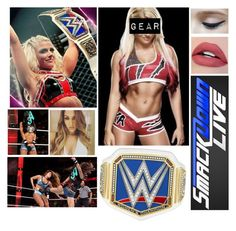 """""""Alexa Bliss vs Nikki Bella (RP)"""" by thekaylabella ❤ liked on Polyvore featuring WWE"""