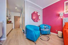 Apartament Vip Glamour typu Studio wnętrze dla tych, którzy cenią sobie luksus i dekoracyjność.