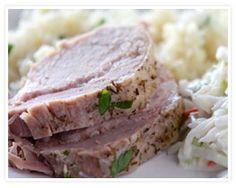 Crockpot Rosemary Pork Loin Recipe