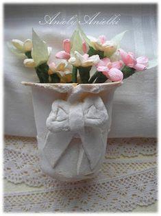DIY Handmade: Karnawałowe maski do druku - 15 wzorów Crochet Flower Patterns, Crochet Flowers, Fabric Flowers, Paper Flowers, Sewing Patterns, Christmas Crafts, Christmas Ornaments, Paper Flower Tutorial, Barbie