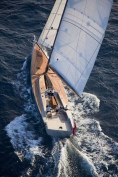 must find out what boat this is...spectacular sailing yacht