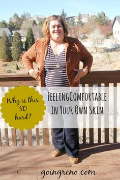 Women are so hard on themselves. Why is feeling comfortable in our own skin SO HARD?