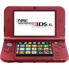 New Nintendo 3DS XL Handheld, Red - Walmart.com - Tyler & Mason