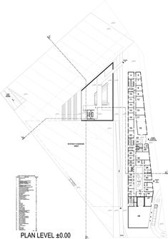 Image 89 of 92 from gallery of Museum of the Second World War / Studio Architektoniczne Kwadrat. Photographers Office, Auditorium Architecture, Museum Plan, Back To Reality, How To Level Ground, World War Two, Two By Two, Budget, Layout