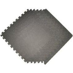 GRAY 48 SQ Ft Pack foam interlocking mats