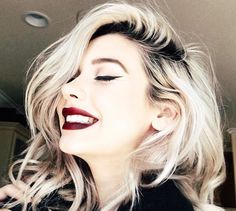 blonde hair dark roots - חיפוש ב-Google