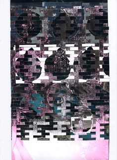 Ejlidh Macleod Paper Weave GSA Textile Work - First Year #art #weave #square