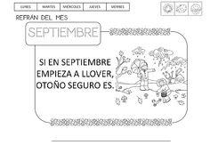 QUÉ HACEMOS HOY EN EL COLE?: otoño