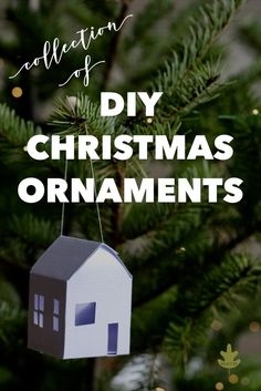 Here are the best DIY Christmas Ornament projects to make this holiday season. These lovely Christmas crafts will look gorgeous on the Christmas tree! Paper Ornaments, Diy Christmas Ornaments, How To Make Ornaments, Christmas Decorations, Natural Christmas, Winter Christmas, Holiday Tree, Holiday Crafts, Christmas Wonderland