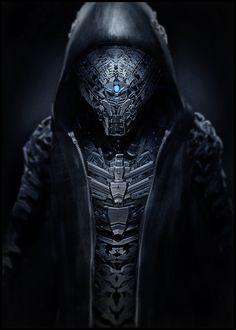 Cyborg, Future, Futuristic, Sci-Fi, replicator-v2 by ~sancient on deviantART…