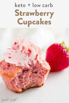 Ketogenic Desserts, Healthy Desserts, Diabetic Desserts, Diabetic Recipes, Keto Recipes, Keto Cupcakes, Keto Cake, Low Carb Deserts, Low Carb Sweets