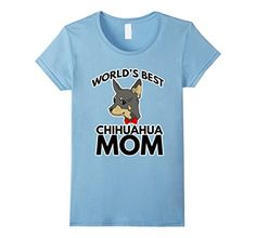 Women's World's Best Chihuahua Mom Chi Puppy Mother Dog C...…