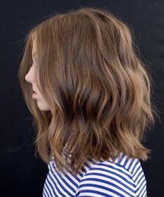 #haircut #livedinhair #anhcotran #milbonhair #milbonpro #haircolor #haircare #hairlength #beauty #style #bridalhair #bridalbeauty #winterbeauty #haircutideas #hairstyles #haircuttypes #celebrityhair #celebrityhairstylist #hairtransformation #hairdresser #cut #color #hairinspo #midlegth #layers Girls Haircuts Medium, Teenage Girl Haircuts, Little Girl Haircuts, Children Haircuts, Haircuts For Teenagers, Medium Hair Cuts, Short Hair Cuts, Cejas Kendall Jenner, Shoulder Haircut