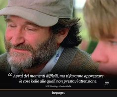 Will hunting bellissimo film !!
