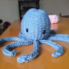 Loom knit octopus