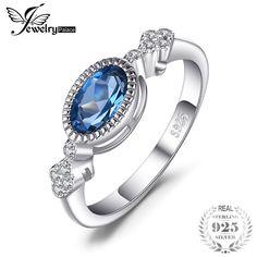 Elegant Oval Shape Genuine London Blue Topaz Ring SOlid 925 Sterling Silver Anniversary Fine Jewelry For Women Fine Jewelry, Women Jewelry, Fashion Jewelry, Fashion Clothes, Gemstone Jewelry, Jewelry Bracelets, Cheap Bracelets, Silver Anniversary, Blue Topaz Ring