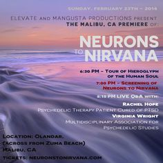 N2N Malibu Premiere Sunday Night!! Please spread the the truth about #psychedelicmedicines, Southern California.
