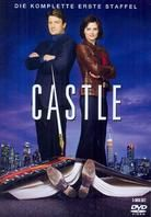 Castle Season One. Keith and I started watching this because we missed Nathan Fillion. It's been fun so far!