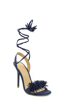 Lace Up Stiletto - Shop Shoes - Ladies Mr Price Clothing, Shoe Shop, Open Toe, Navy Blue, Lace Up, Fashion Outfits, Detail, Lady, Stuff To Buy