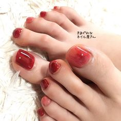 夏/秋/浴衣/海/フット - Naomiのネイルデザイン[No.3411983]|ネイルブック Feet Nails, K Beauty, Nail Inspo, Fragrances, Nail Ideas, Manicure, Nail Designs, Nail Polish, Hairdos