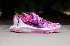 acheter Nike KD 8 Vivid Pink Aunt Pearl pas cher (1)