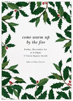 christmas poster Holiday invitations - online and paper - Paperless Post Christmas Flyer, Christmas Graphics, Christmas Mood, Christmas Design, Christmas Brochure, Christmas Posters, Christmas Border, Christmas Ideas, Holiday Cards