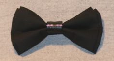 Minecraft Enderman Double Layer Clip-On Bowtie **FREE SHIPPING** by TheRubyPigdotcom on Etsy