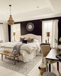 Master Bedroom Interior, Master Room, Master Bedroom Makeover, Home Decor Bedroom, Master Bedroom Decorating Ideas, Cozy Master Bedroom Ideas, Bedding Master Bedroom, Small Master Bedroom, Bedroom Retreat