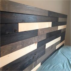 18 Neat Things You Can Create with Old Bed Slats - Page 8 of 18 - Ritely Window Headboard, King Bed Headboard, Wood Headboard, Headboard Ideas, Window Blinds, Diy Headboards, Ikea Bed Slats, Wooden Bed Slats, Wood Slats