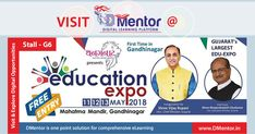 DMENTOR is participating in upcoming Education Expo at Mahatma Mandir, Gandhinagar on 11th,12th &13th May 2018, Visit Stall G-6, get lucky to win fabulous daily Prizes.#educationexpo #gandhinagar #expogandhinagar #prize #gifts #digitaleducation #digitallearning #onlineeducation #dmentor