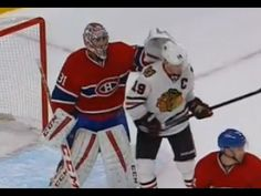Carey Price Tips Jonathan Toews Helmet (11/4/14) - http://hockeyvideocenter.com/carey-price-tips-jonathan-toews-helmet-11414/