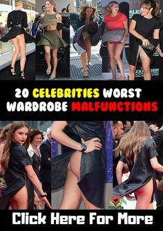 Celebrities Worst Wardrobe Malfunctions #Celebrities