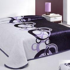 Prehoz na manželskú posteľ s motívom fialových kruhov - My site Luxury Bedding, Furniture, Home Decor, Decoration Home, Room Decor, Luxury Duvet Covers, Home Furnishings, Home Interior Design, Home Decoration
