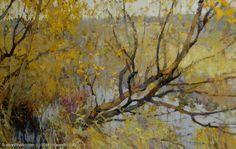 Autumn - oil, canvas, Yuri Vasendin